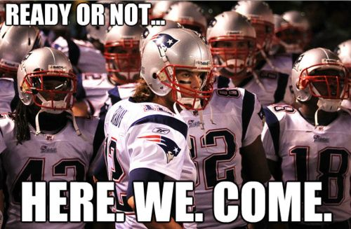 #NFL #Patriots. It's almost Football time...