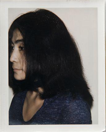 Yoko Ono ● 1971: Andy Warhol Polaroids