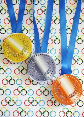 Olympics Sports Party Favors Chocolate Medals! #OlympicsParty #WinterOlympics #Olympics #OlympicGames #PartyIdeas