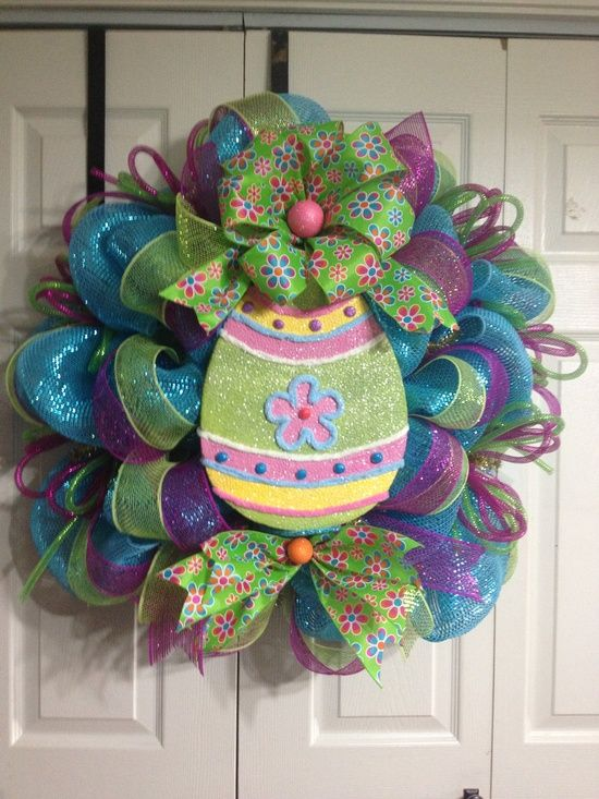 18 Great Easter Spring Wreath Ideas