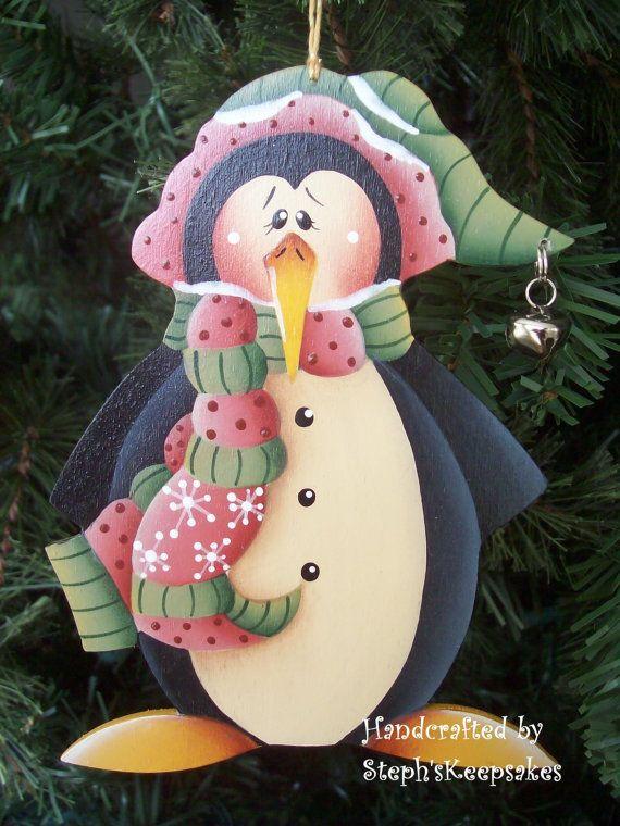 Penguin+Ornament+by+stephskeepsakes+on+Etsy,+$7.50