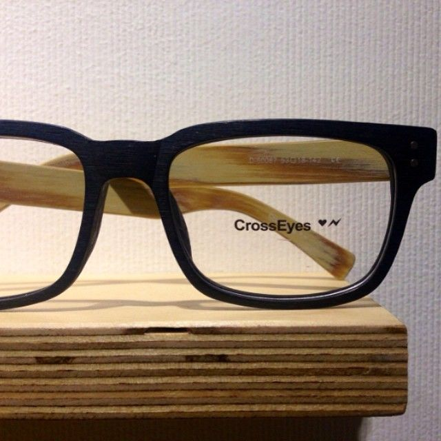 Eyeglass Frame Tester : Wooden frame by CrossEyes Eyewear. Enjoy the weekend! Book ...