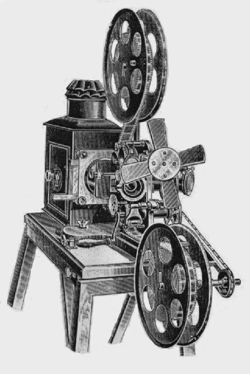 """De """"bioscope"""" van de Gebroeders Skladanovsky - 1895"""