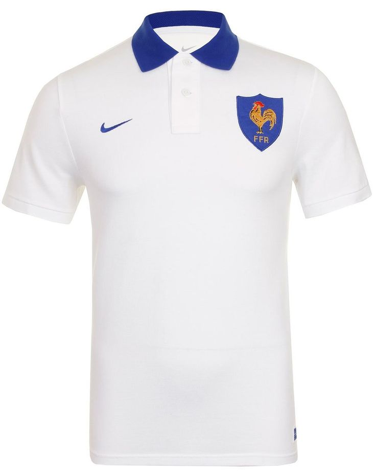 Nike Homme Vintage FFR France Rugby Polo Shirt, blanc: Amazon.fr: Sports et Loisirs