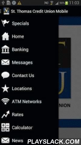 St. Thomas Credit Union Mobile  Android App - playslack.com ,  A free application to members of the St. Thomas Credit Union and allows instant access to your accounts anytime, anywhere using your mobile device. With 24/7 account management you can: view account balances, view account transactions, transfer funds between your checking or savings accounts, make loan payments, or pay bills and more while on the go... quickly, easily and securely. Have a VISA credit card issued by us? Visa…