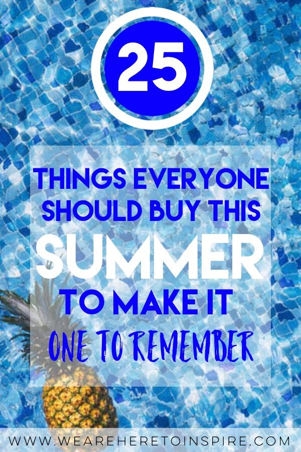 Summer 2017 is here! I have created an amazing and unique list of must haves for your summer fun! Don't you want to be the life of the party? Or spend time being alone instead? No problem, I found some awesome products for you too. Whether you're you're parents trying to having some fun with your children, or you're a couple wanting to have fun but stay within your budget, or even hanging out with all your friends at the beach, at home or even the backyard. I got you!