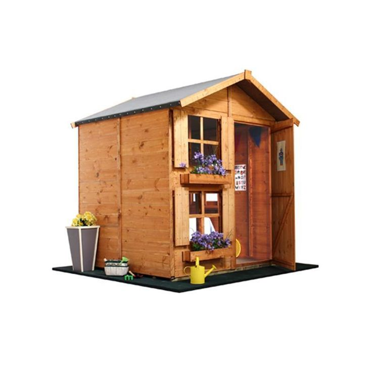 The BillyOh Mad Dash 4000 Peardrop Playhouse Collection - Wooden Playhouses - Garden Buildings Direct