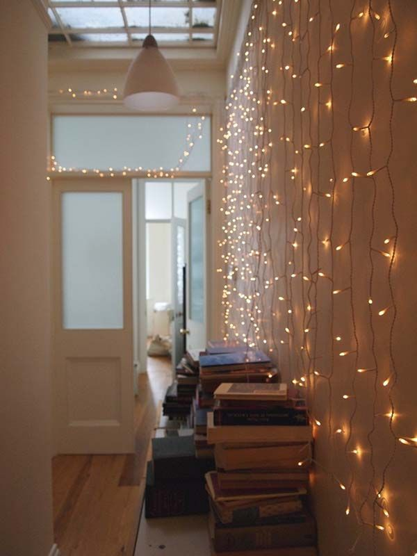 45 Inspiring Ways To Decorate Your Home With String Lights Part 35