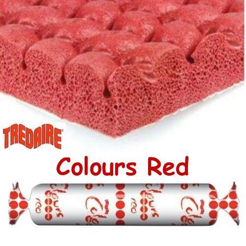 TREDAIRE COLOURS RED Sponge Rubber Carpet Underlay