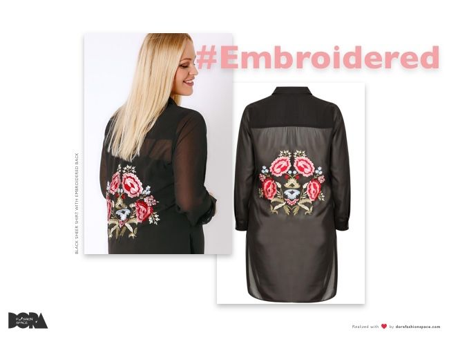 yours clothing embroidered trend