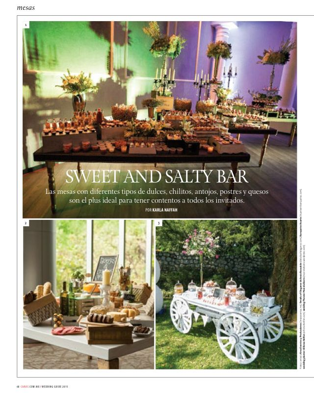 Revista Caras Wedding Guide Belinda