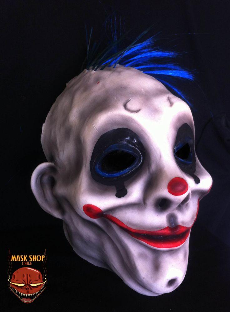 Grumpy clown, joker´s driver side a www.facebook.com/maskshopchile