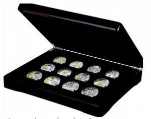 Kolekce pamětních medailí Karel IV