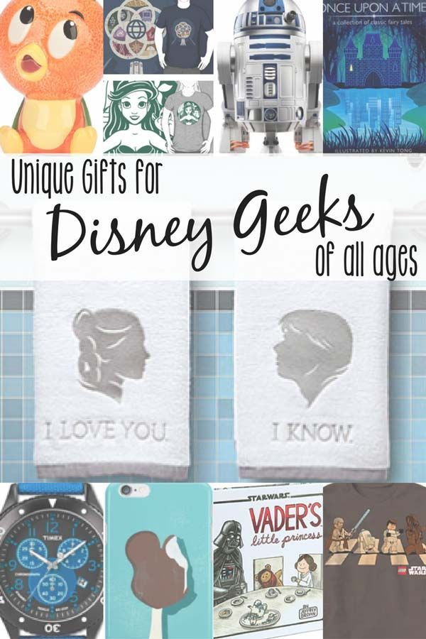 Unique Gifts For Disney Geek Of All Ages