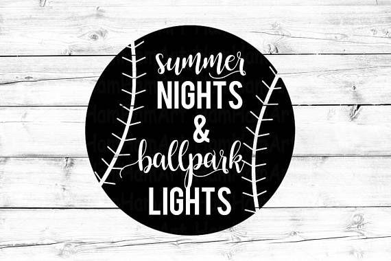 b00102cba958 Summer Nights   Ballpark Lights SVG