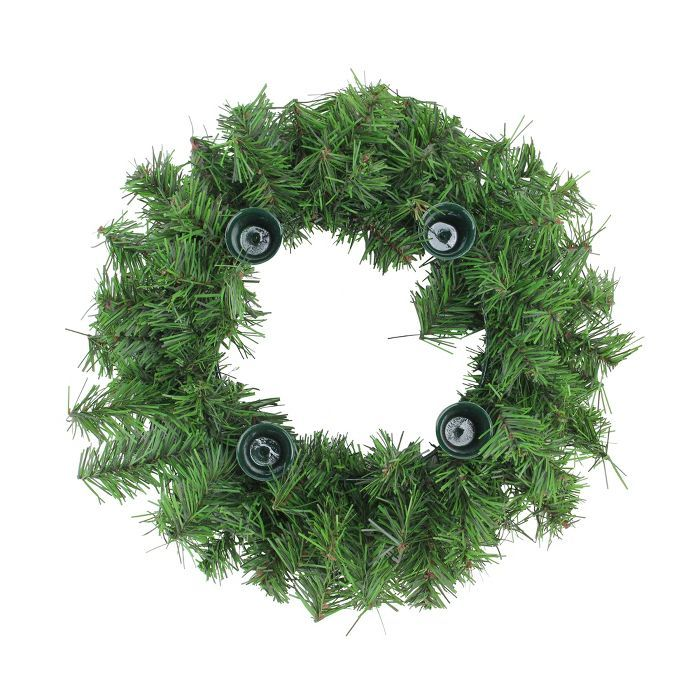 Northlight 12 Two Tone Pine Artificial Advent Christmas Wreath Target With Images Christmas Advent Wreath Advent Wreath Christmas Wreaths