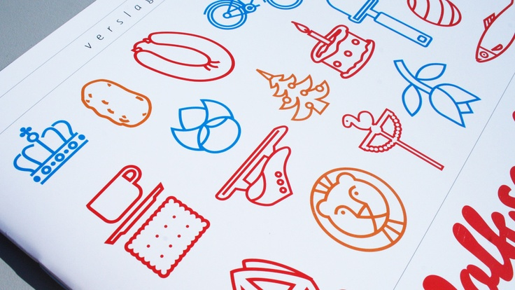 Icons & bookcover - Volkscultuur