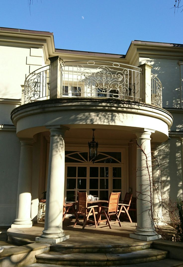 Gray balustrade House styles, House, Mansions