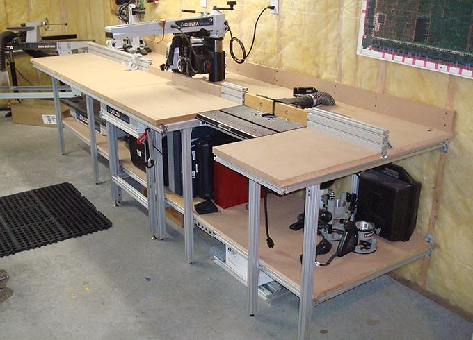 28 best images about assembly outfeed table on pinterest