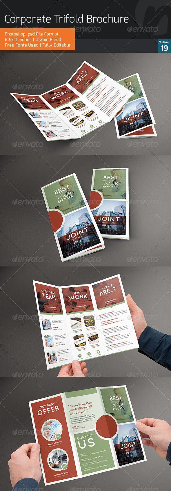 Corporate Trifold Brochure V19