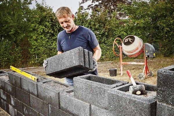 Gartenmauer Errichten Hornbach Gartenmauer Mauer Verputzen Mauer