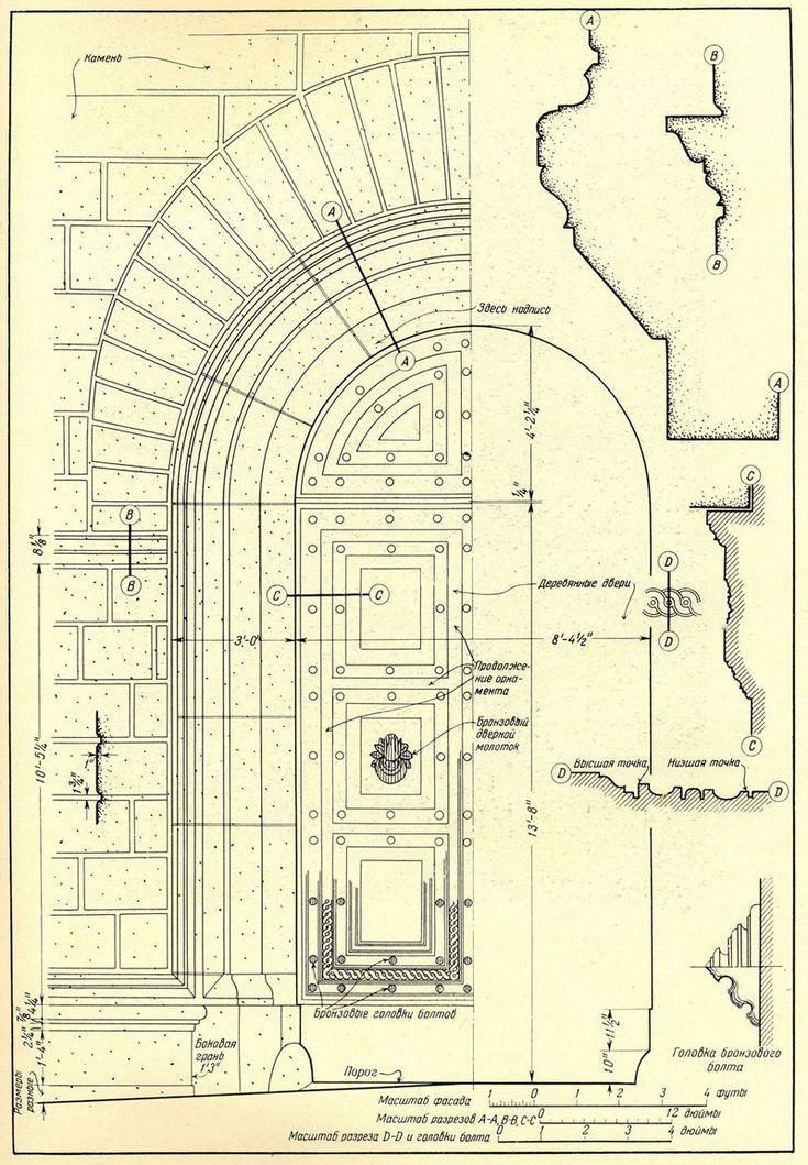 Сиена. Дворец Пиколомини. Двери и порталы в итальянской архитектуре