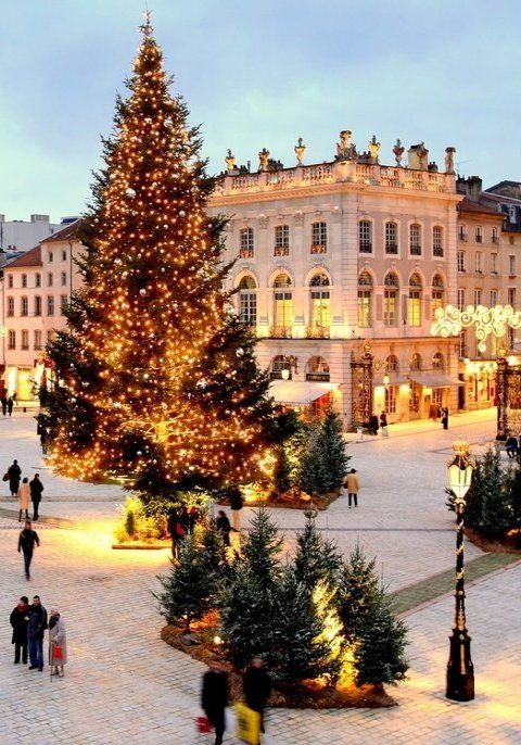 Christmas in Nancy, France is so beautiful. My son played pro-basketball in France and lived in this city. Visited numerous times and it's lovely during the winter!!!!