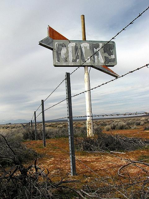 Defunct rock shop and cafe - California desert by Vintage Roadside, via Flickr: Rocks Shops, Abandoned Issues, Barbed Rocks, Defunct Rocks, Cafe, Photo, Vintage Roadsid, Desert Hwi, California Desert