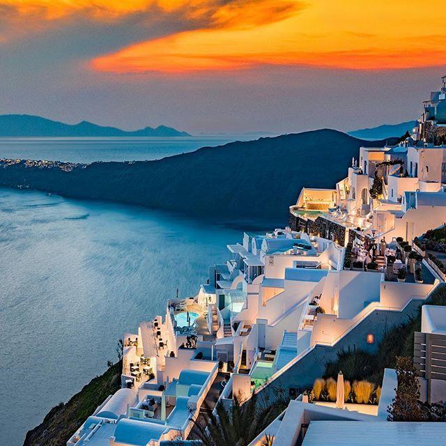 Santorini Sunset #santorini