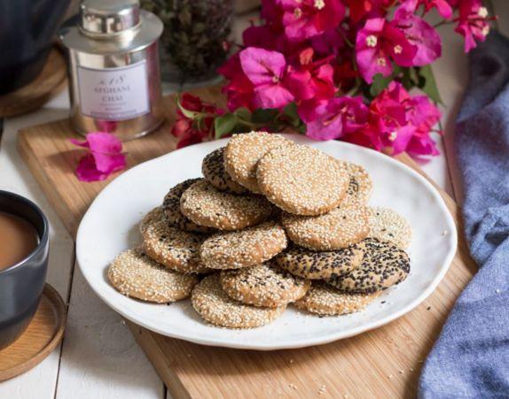 Μπισκότα+με+ταχίνι+και+καρύδια+νηστίσιμα