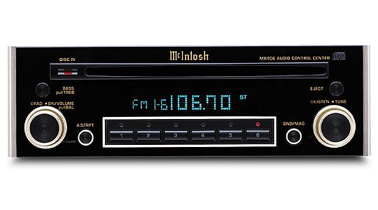 The McIntosh MX406: Classic car audio