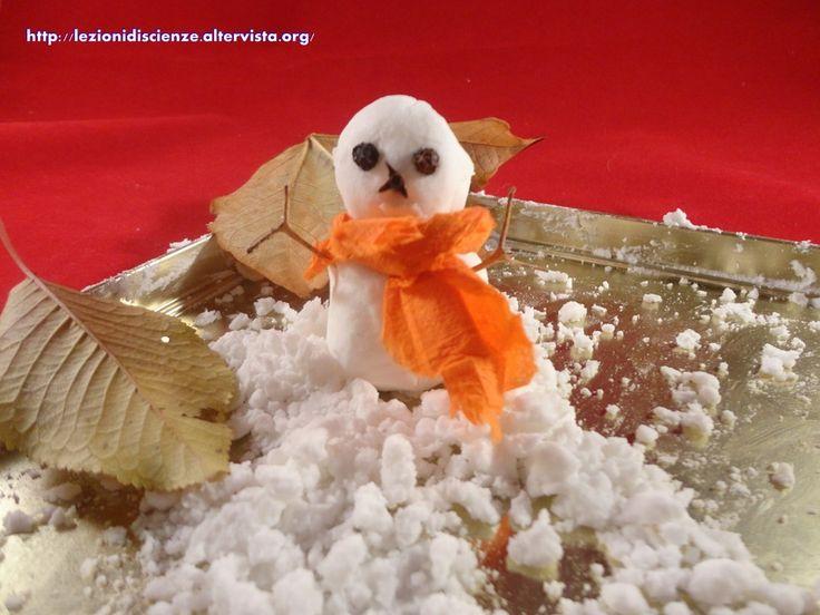 Neve fatta in casa - Frosty