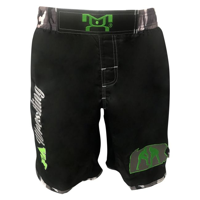 MyHOUSE Pennsylvania Embroidered Fight Shorts With Camo Sublimated Sides is comfortable for wrestling fights. MyHOUSE is the leading seller of custom #wrestling  gear in the USA.