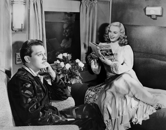 Lady On A Train (1945): A Leslie Charteris Premise with a Lucille Ball Twist ~ The Amazing Deanna Durbin