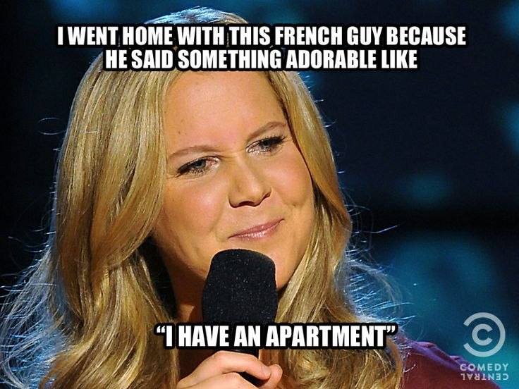 I'm watching her live this November, Amy Schumer is super funny!