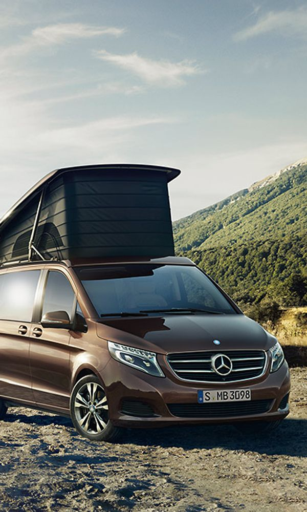 It's official: campers are no longer the sole domain of ski bums and river rats. Mercedes-Benz has teamed up with decorated mobile home crafter Westfalia to convert its Viano van into the Marco Polo camper: the plushest home on four wheels.