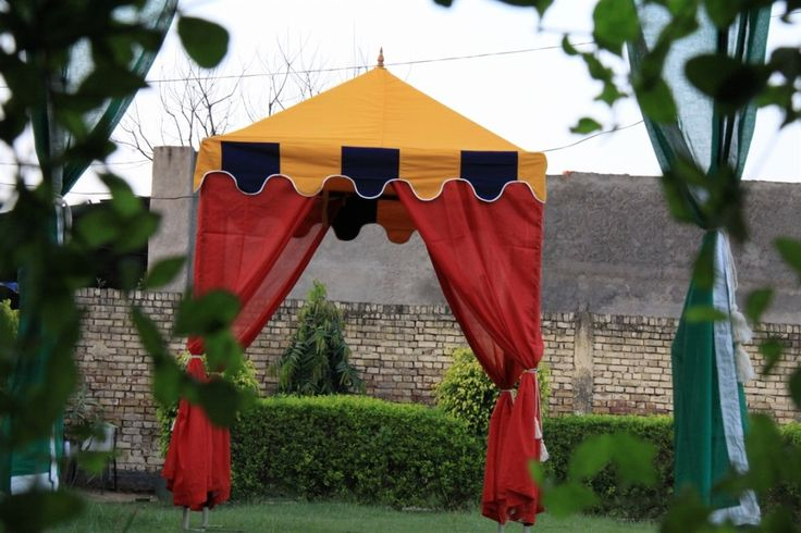 small canopy stall tent