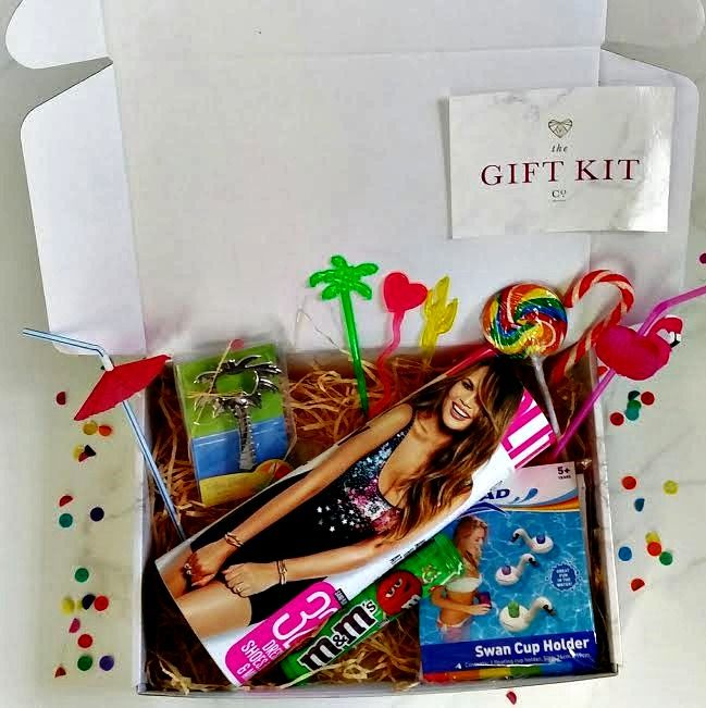 Send this to a girlfriend and get the party started early. The Cosmopolitan Cocktail Kit. www.thegiftkitco.com.au