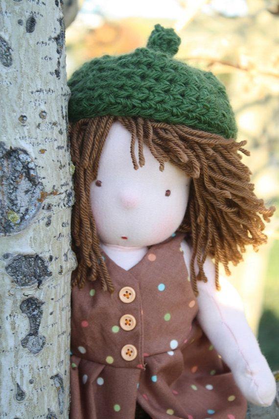 Harvest Doll 14 Natural Waldorf Doll