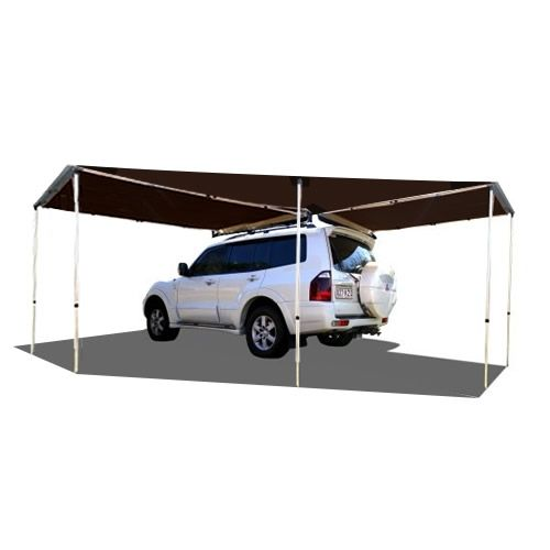 Tough Toys Toys Offroad Accessories 4wd Tough LED Awning Triagle Piece Wrap Around Awning Offroad Shade