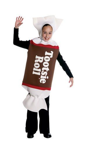 kids tootsie roll costume halloween costumes halloweencostumes - Halloween Food Costume