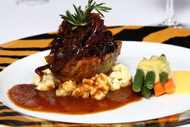 Meals from Sun City's Executive Chef always amaze!
