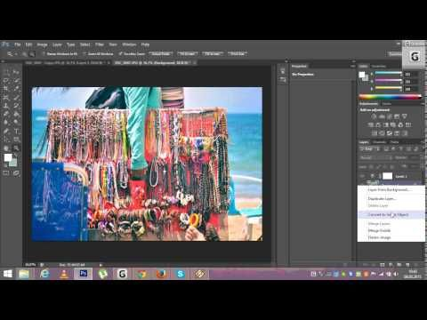 Lomo effect - Photoshop Youtube tutorial for beginners in 2 steps