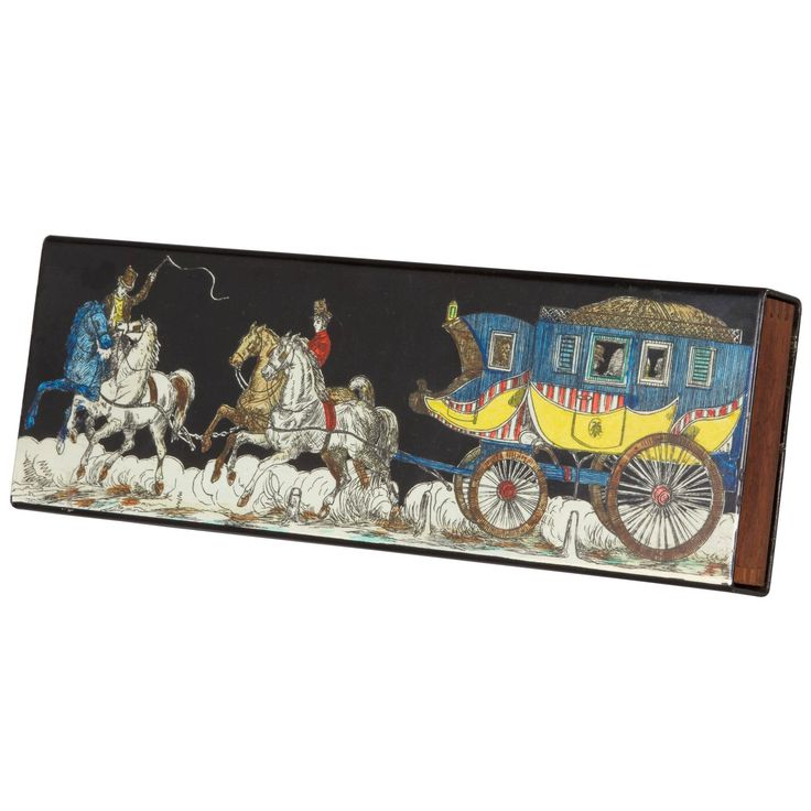 Fornasetti Box Horse and Carriage