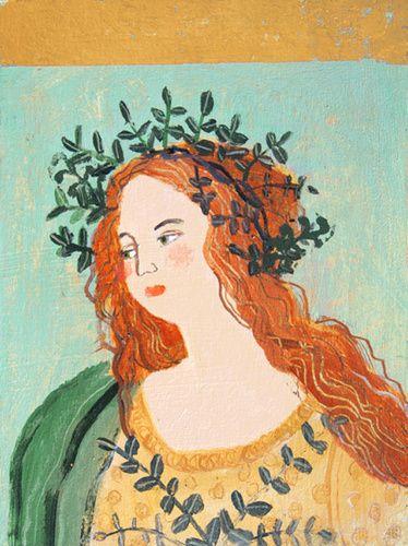 Madonna 3 by Elaine Pamphilon