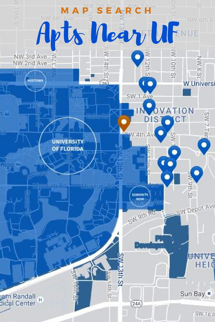 Search For The Closest Apartments, Houses, And Dorms To The University Of  Florida (