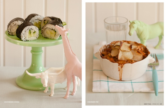 :)Food Chicken, Chicken Pies, Sweetpaul, Delicious Style, Giraffes Eating, Colors Figurines, Cherries Blog, Chicken Pots Pies, Amazing Ideas