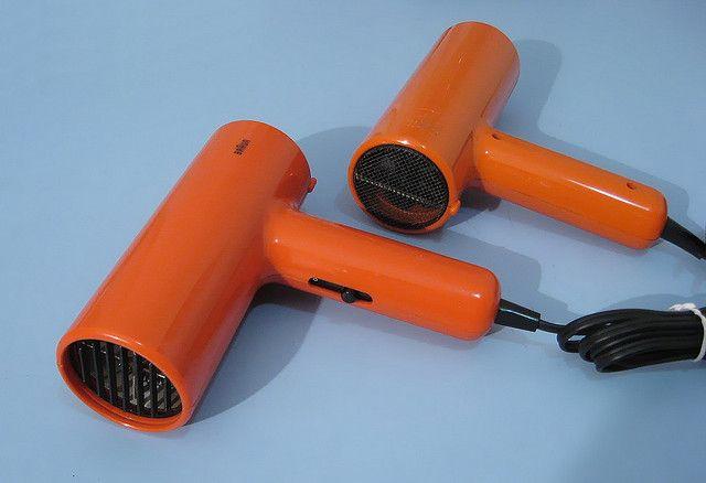 70's Braun Rapido hair dryer