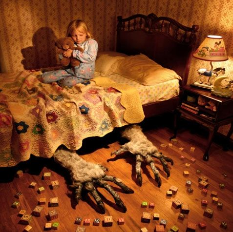 Your worst childhood fears staged by Joshua Hoffine