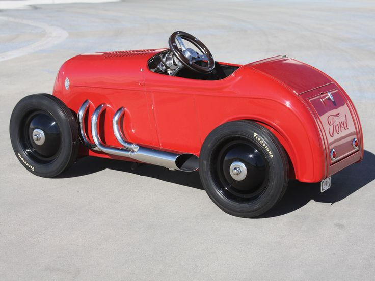 1932 ford custom pedal car